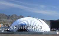 2014 New design giant inflatable dome exhibition tent