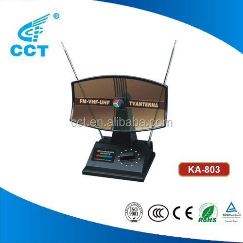 FM Radio Antenna VHF UHF TV antenna for Indoor Use Indoor Aerial KA-803