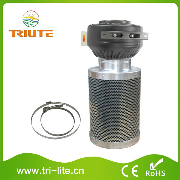 High quality carbon filter+inline fan+air ducting package
