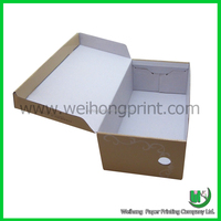 custom logo print foldable converse shoe box