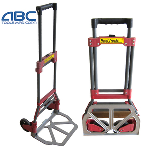 Foldable transport trolley carts/Platform hand trolley/ foldable luggage cart