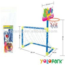 2 IN 1 Sport game - football goal & basketball stand 196A