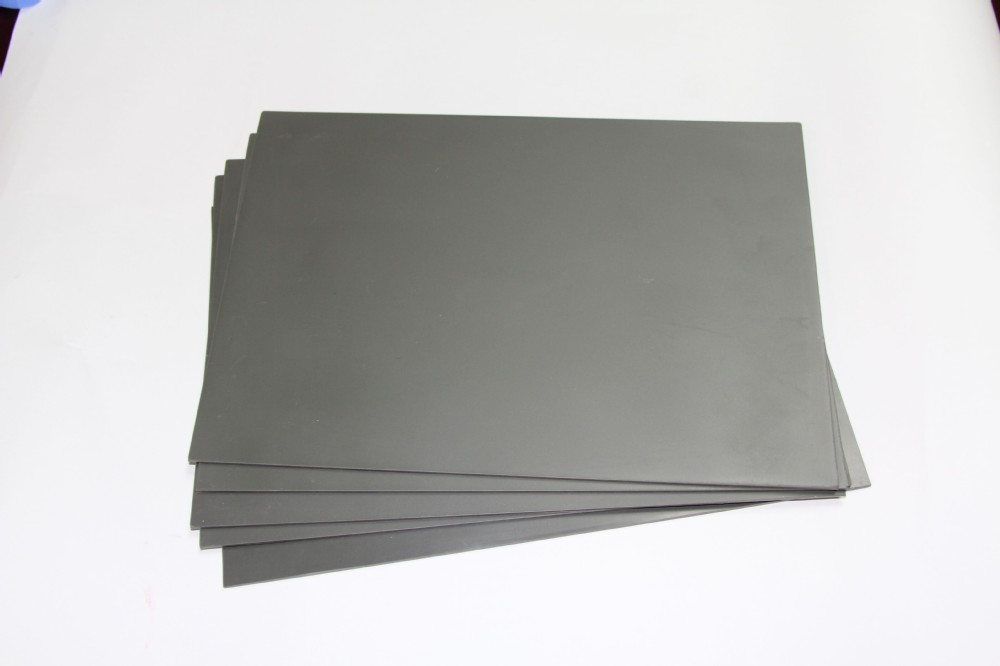 2 PCS A4 2.3mm Gray Laser Rubber Sheet for Rubber Stamp Seal Laser Engraving