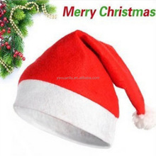 2015 wholesale red color christmas hat design,dancing christmas hats for party