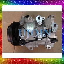 Cheap used electric car for toyotas air ac compressor Reiz Lexus Is250 Crown 88320-3A300 88320- 3A270 447190-7262 6SBU16C 120mm