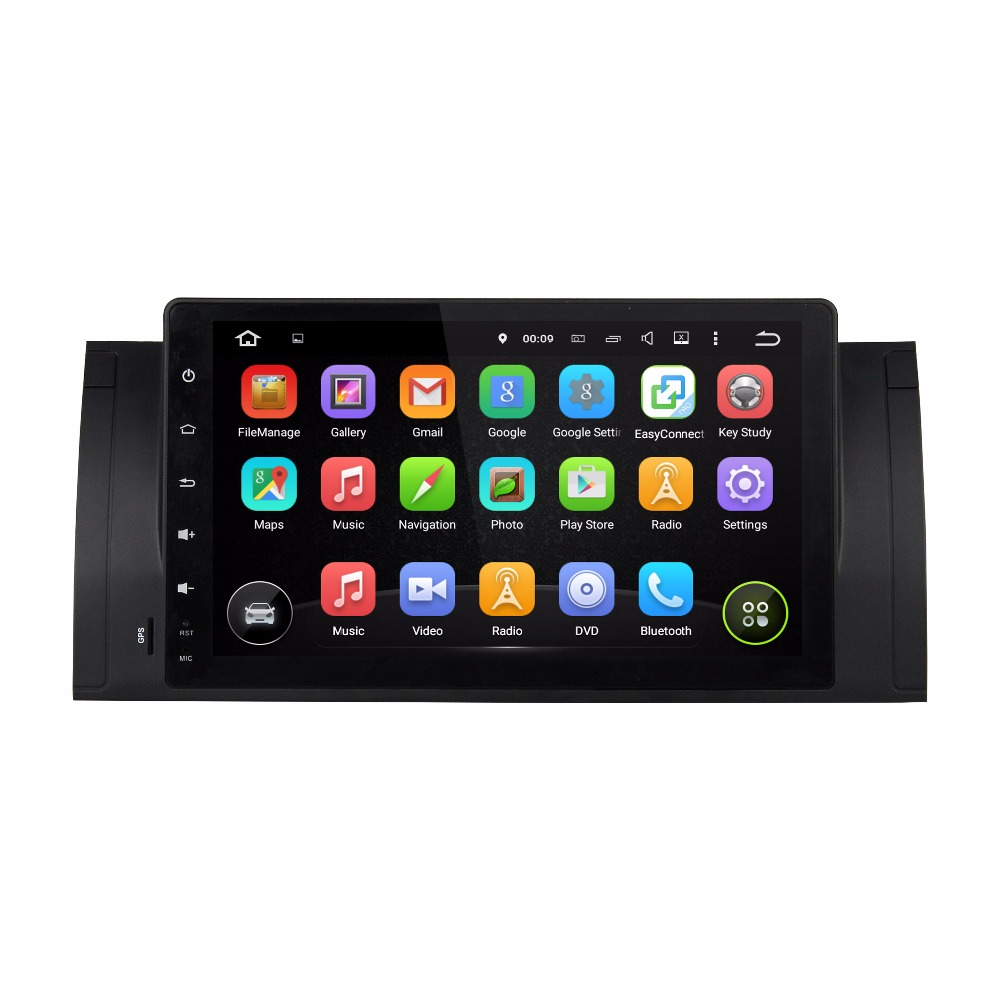 pioneer car audio Android 5 1 1 Gps car dvd player for BMW E39