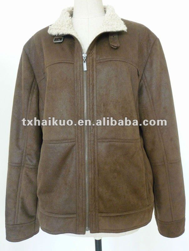 pop design High quality Men's leather jacket ,synthetic leather pu jackets & coats