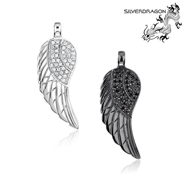 Wing with CZ Pave