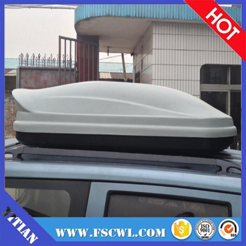 Customized 500L Vacuum Forming ABS Plastic Cargo and Luaggage Car Roof Box