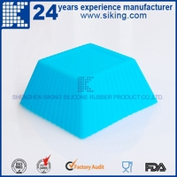 round shape silicone bakeware 3d silicone audi cake mold silicone bakeware
