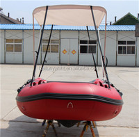 3 person inflatable boat fishing boat with aluminum floor