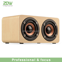 2017 hot selling retro wireless funiture wood speaker portable simple design bluetooth speaker