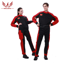 Good quality cheap overalls mechanic work uniforms from china factory