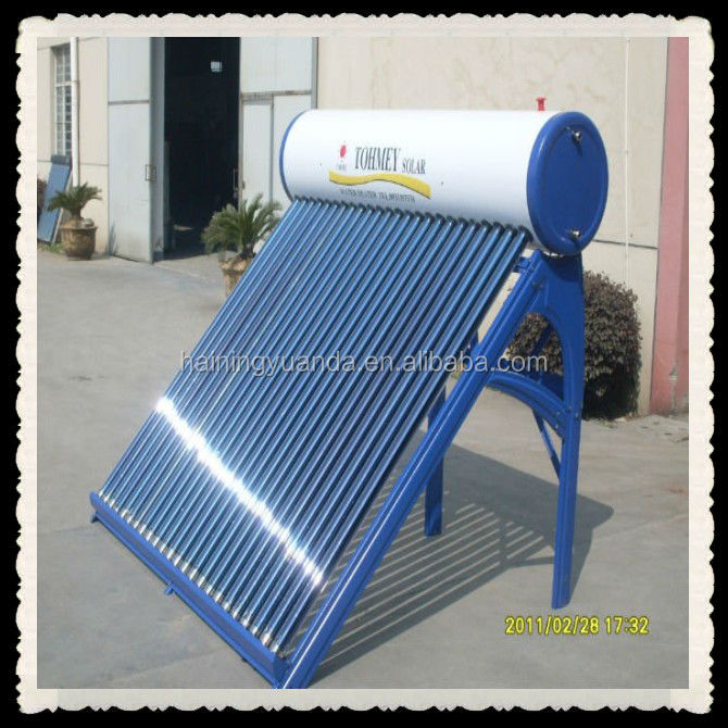 Color steel Compact Non-pressurized solar water heater/Solar Thermal Systems for hot water