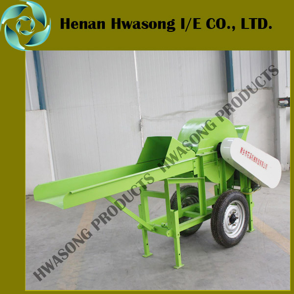 Farm use hay green grass chopper machinr for animals poultry feed