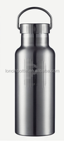 bamboo top vacuum sports bottle,Travel Insulated bottle - stainless steel canteen wide mouth