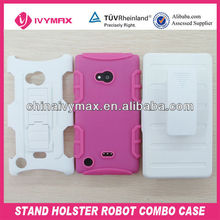 for nokia lumia 720 clip belt robot phone cases