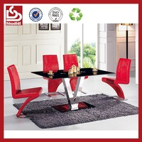 Shudidi modern style hideaway Dining table and chair set