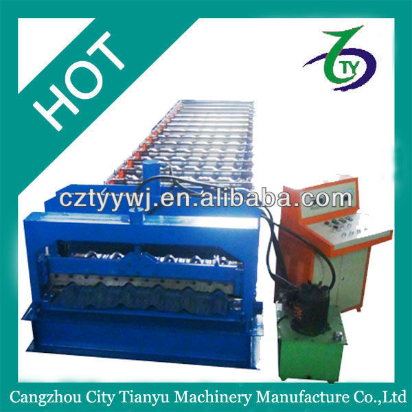 Promotional machine tool for manufacture tile