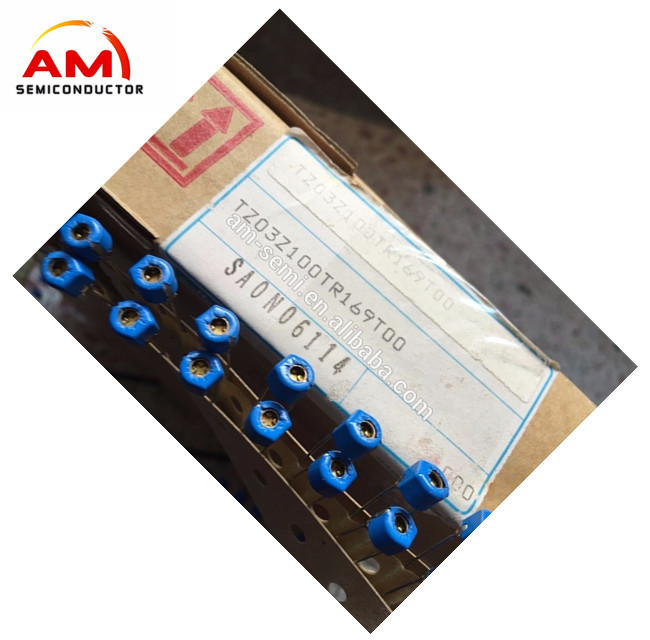 Adjustable Capacitor TZ03Z100TR169T00 Variable Capacitance 10pf Blue Trimmer / Variable Capacitors 10pF Trimmer Capacitor