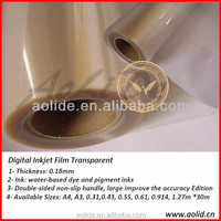 Optical PET Film,Inkjet Transparent Film for Screen Printing