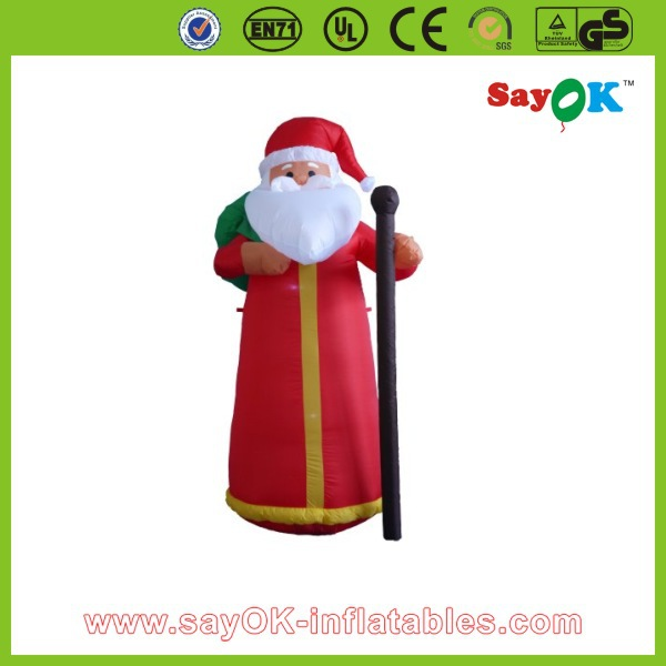 Advrtising inflatable christmas old man,inflatable santa claus for christmas decoration