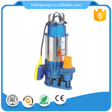 China high pressure electric vertical aquarium centrifugal submersible sewage pump price of 1hp water pumps