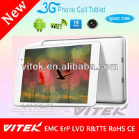 China OEM Cheap 9.7 inch 3G Android GMS Tablet PC