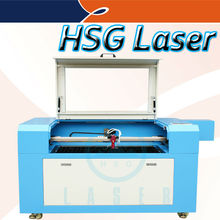 With independent motorized up-and-down table laser cutting gift hang tag machine HS-SZ9060