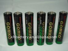 Zn-Mn battery R03C,AAA size, 1.5v