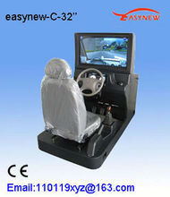 2013 new invention 32 inch LCD with vehicle computer driving simulator equipment
