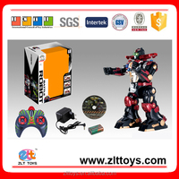 New products remote control robot toys with lighting,music & rally