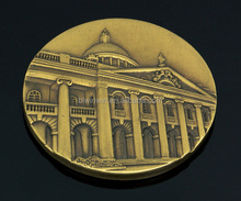 Brass image metal coin