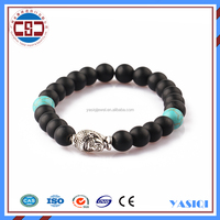 Hong Kong jewelry wholesale gold color buddha bracelet fashion jewellery