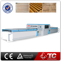 Cheap vacuum press machine/door pvc laminating press machine/wood veneer vacuum membrane press machine with double stations