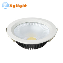 Down lamp lighting dimmable saa 20w round cob led downlight kit