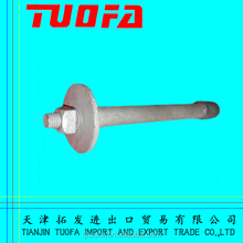 High Quality Spindle For Pin Insulator/Steel Foot stainless steel foot supports arch supports