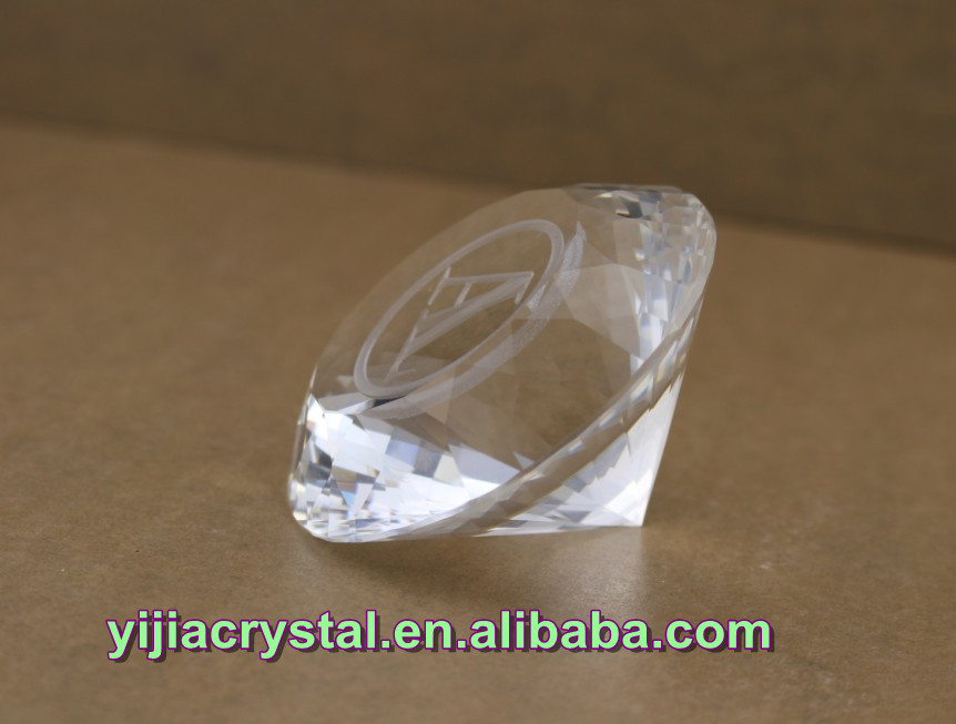 Optical Clear K9 Crystal Glass Diamond Paperweight,Wholesale transparent Crystal Diamonds for Wedding Return Gifts
