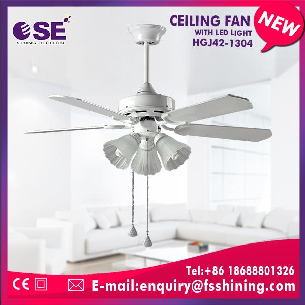 42 inch ac ceiling fan wholesalers with E27*3