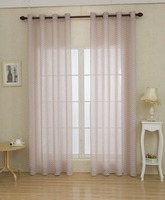 1PC PRINTED FAUX LINEN FABRICS CURTAIN FOR LIVING ROOM WITH CUSTOMIZED SERVICE AND FREE SAMPLE
