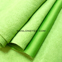 Taiwan red and green plaid taffeta fabric