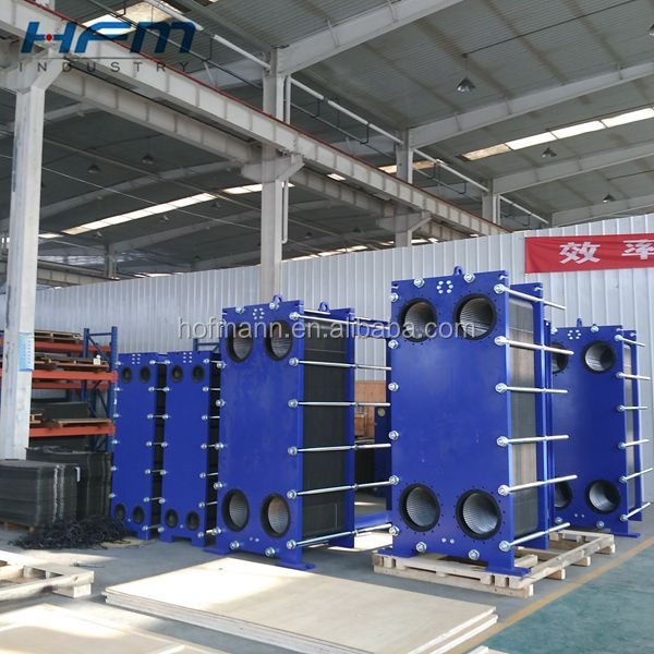 Plate heat exchanger for industry