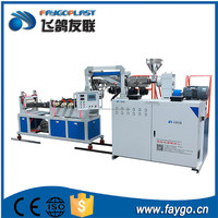 High speed high capacity polyethylene plastic blown film extrusion blowing machine price