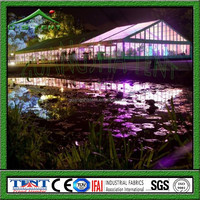 strong heavy duty aluminium alloy framed wedding tent event tent, luxurious decorated tent