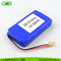 Rechargeable 7.4V 2500mAh polymer lipo battery batteries for GPS devices
