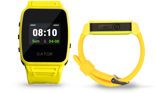 Students Smart cell phone easy going GPS phone watch---Gator Caref Watch