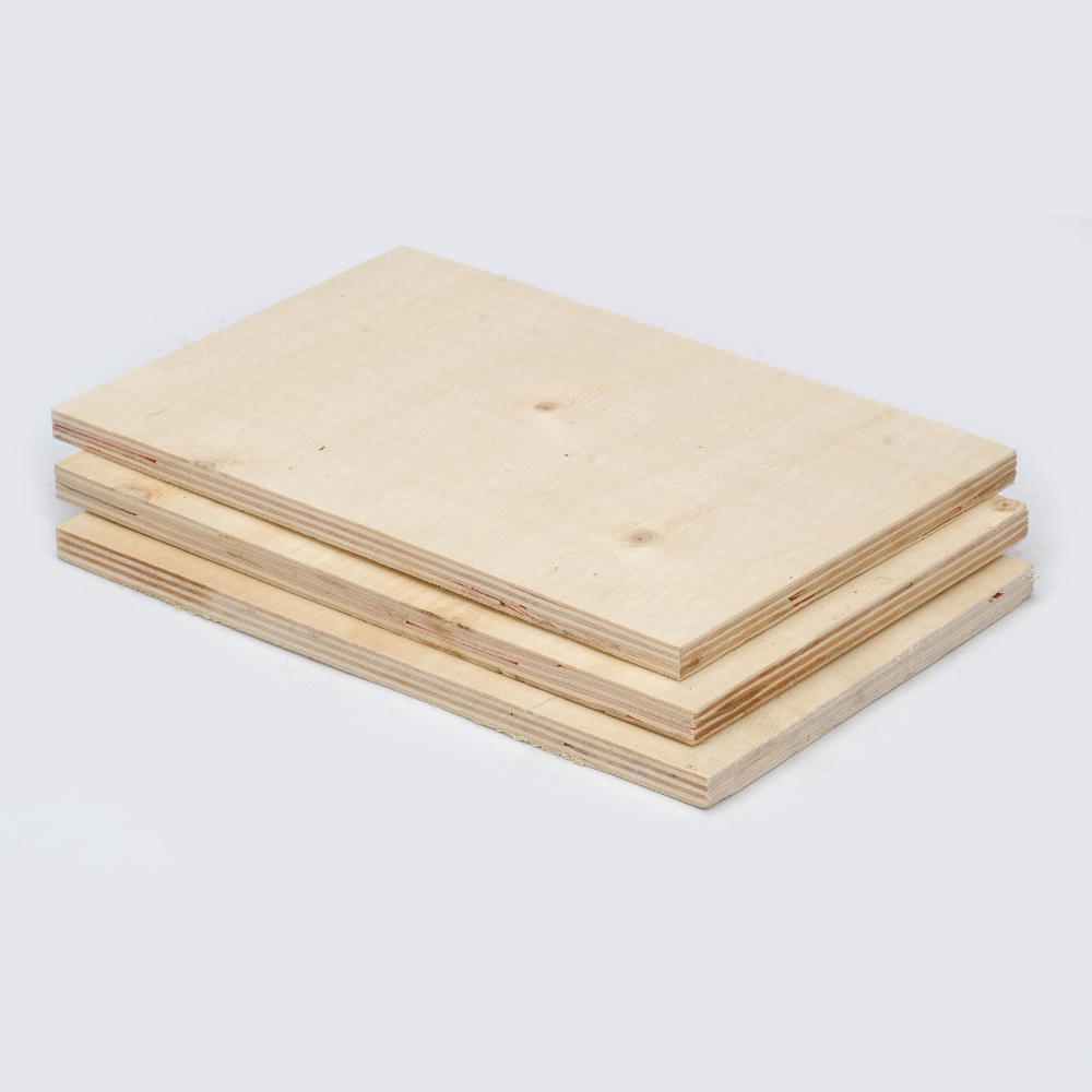 Pallet planks plain face commercial plywood