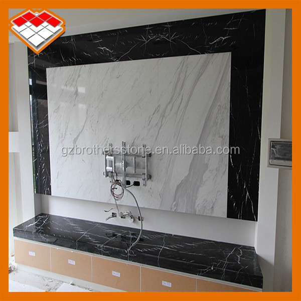Decorative Wall Stone Lcd Tv Wall Unit Designs Type Multi Panel Tv