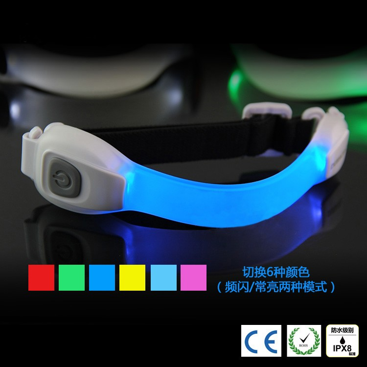 2016 hot sale gift led sports armband for safe, armband for running cycling