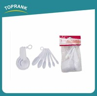 Toprank Factory Directly Supply Plastic Measuring Spoon, Measuring Scoop set